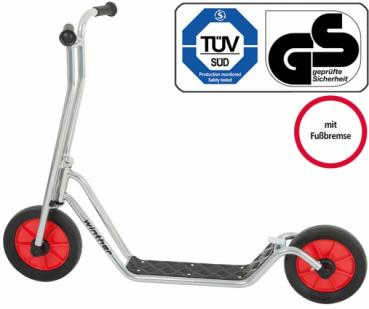 Winther Kinder Viking StarScooter Maxi Chrom - 598
